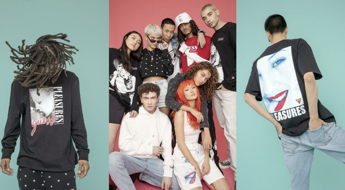 Pleasures x Guess Originals Collection Singapore Drops In March 2021