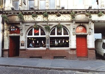 061825:Half Moon Inn Bigg Market Newcastle upon Tyne; Malcolm Maybury; 1995