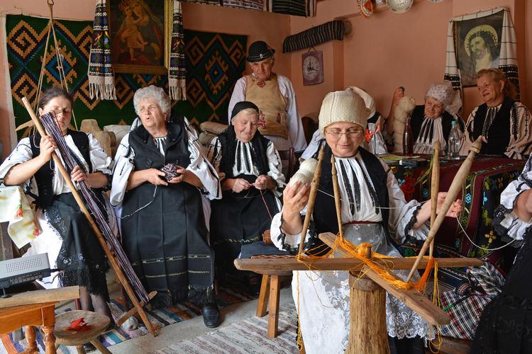 Șezătoare la Săcădate / foto: CJCPCT Cindrelul-Junii Sibiu