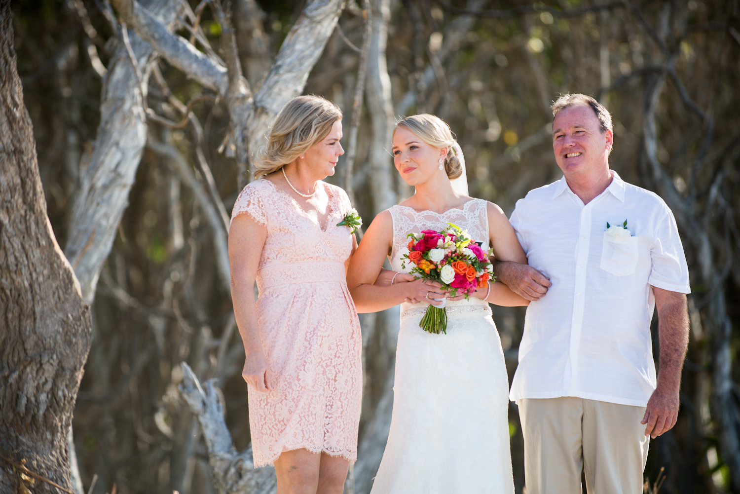 Point Lookout wedding | Kassia and Shane | ceremony on Home Beach, Point Lookout, North Stradbroke Island