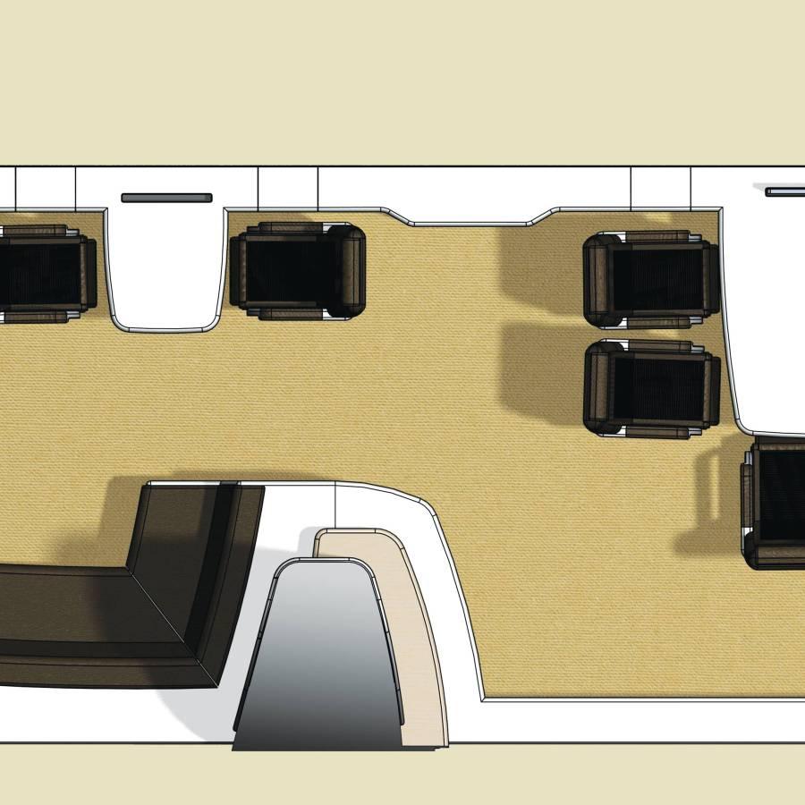 Interieur ontwerp Vliegtuiginterieur - STRAEL Productontwerp en Meubelmaker Utrecht