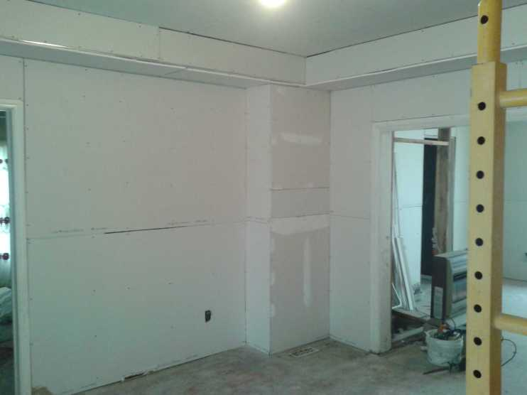 Rogers House Drywall 2