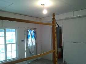 Rogers House Drywall 3
