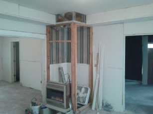 Rogers House Drywall 6