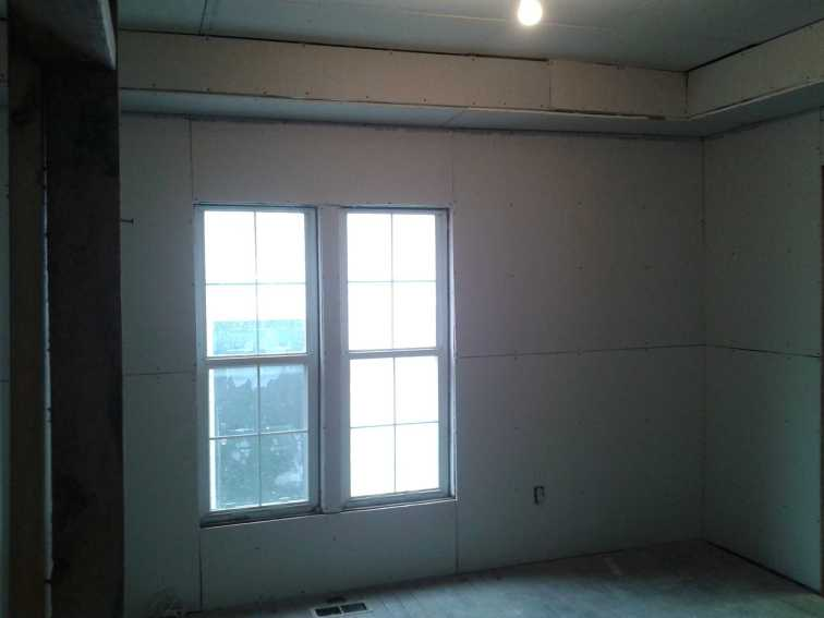 Rogers House Drywall 7