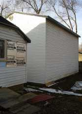 Outside of Rogers House 3