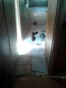 Workman Floor repair 3