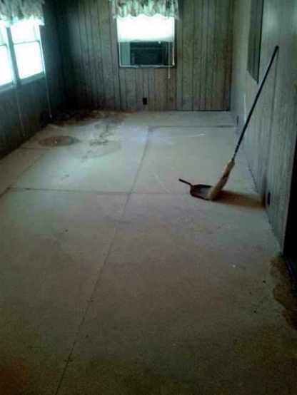 Workman Floor Repair 8