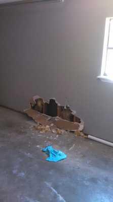 G St Vandalism Repair 1