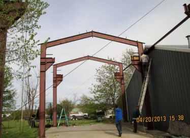 Moving Metal Building 10