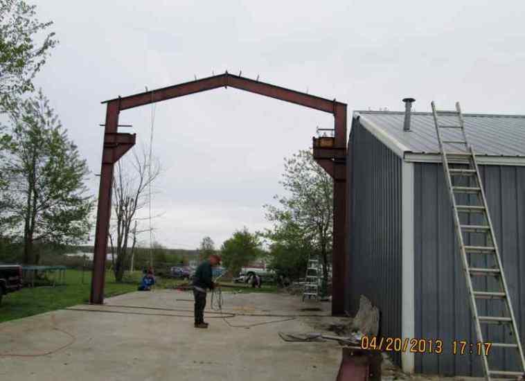 Moving Metal Building 11
