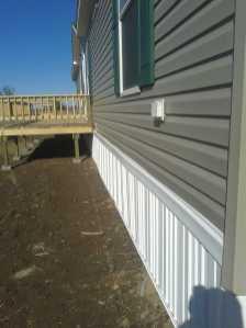 Mobile Home Install w-Porch9