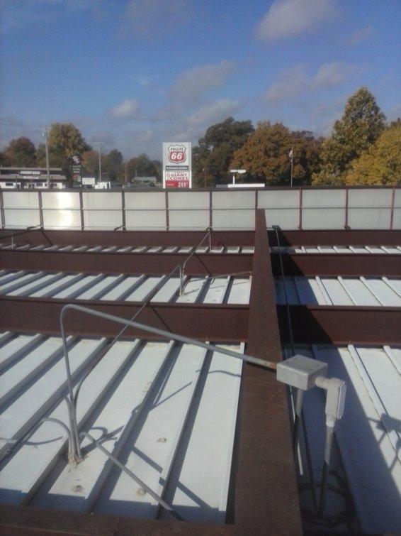 Short Stop Roof Leak 2013-5