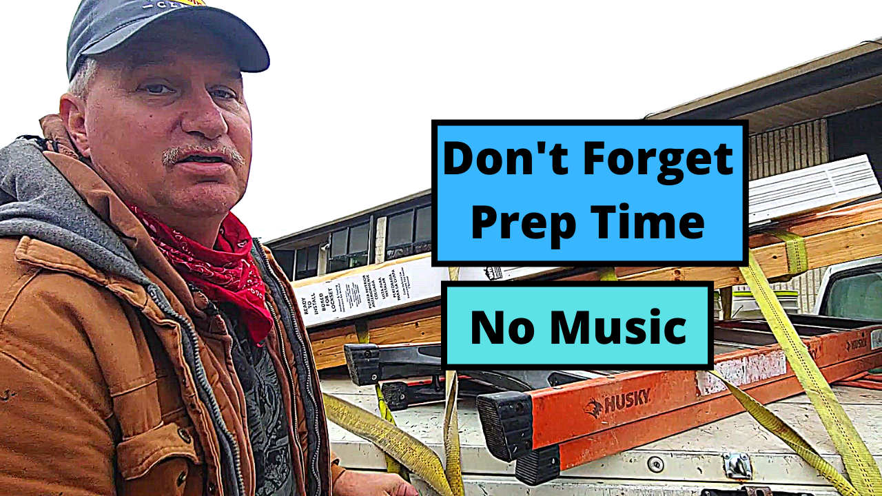 Don't Forget the Prep Time