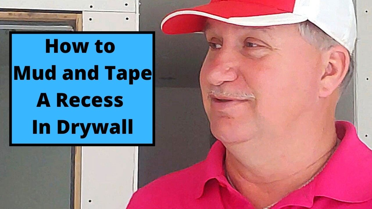 How to Mud and Tape A Recess In Drywall
