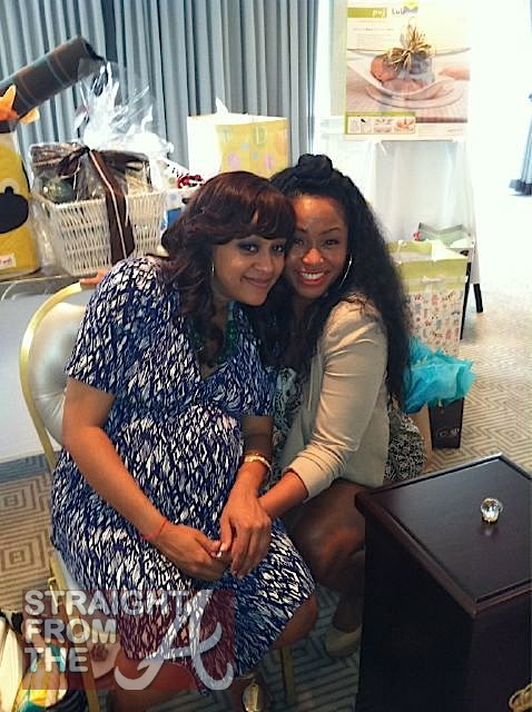 sister sister moment tia mowry s intimate baby shower photos