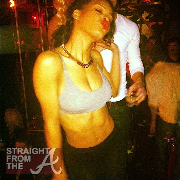 Hacked or Leaked? Teyana Taylor Tweets Naked Shots... [PHOTOS]