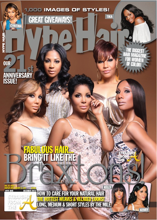 Cover Shots The Braxton Sisters Cover Hype Hair Magazine