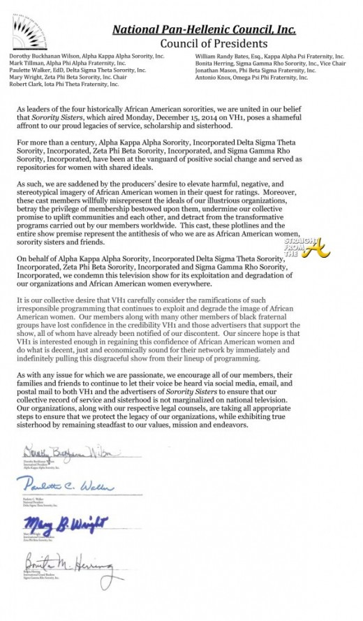 Nphc Issues Statement Against