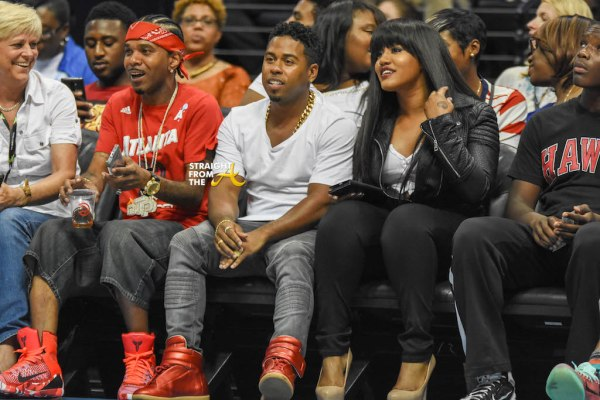 Bobby V Jhonni Blaze Atlanta Dream Game – SFTA 1 ...