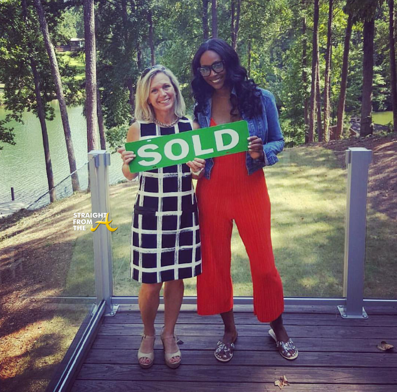 EXCLUSIVE!! Check Out #RHOA Cynthia Bailey's New Lakefront Home... (PHOTOS)