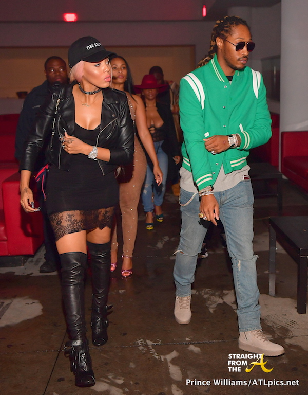 Boo'd Up: Future Reunites With Baby Mama Brittni Mealy... [PHOTOS]