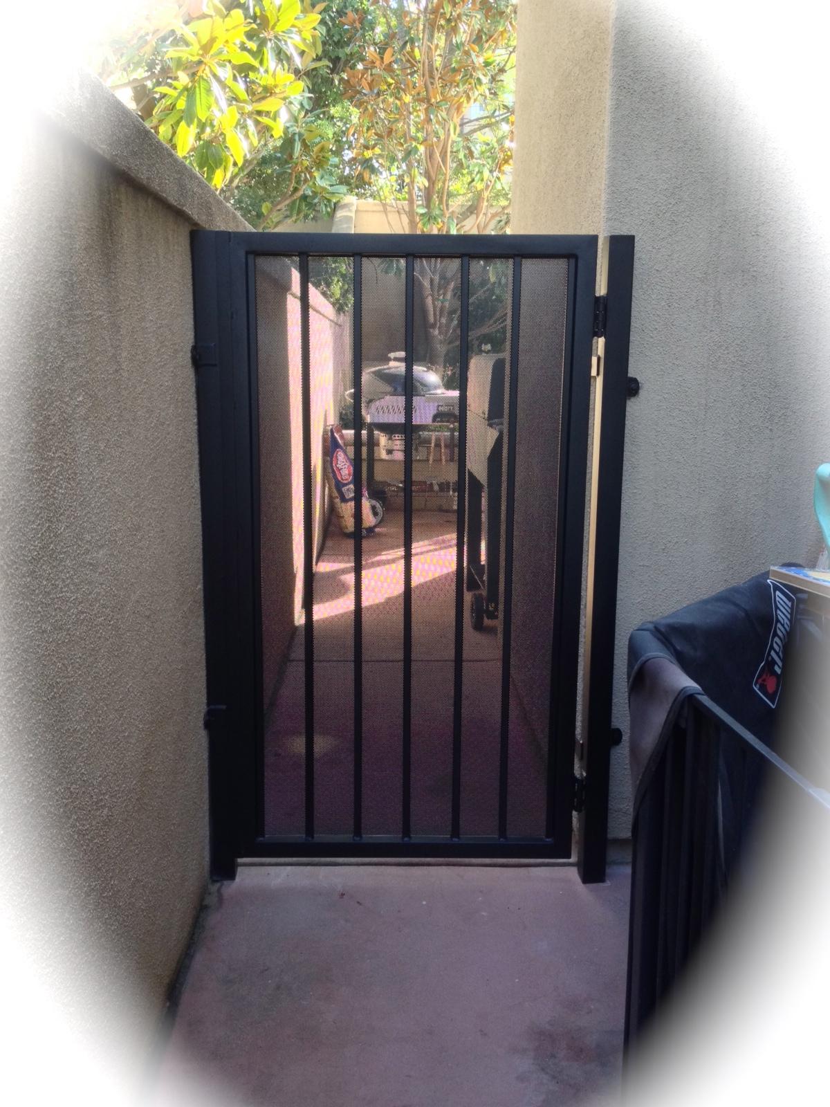 Metal Entry Gates