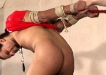 Sex Slave Jordan endures deep-throat training
