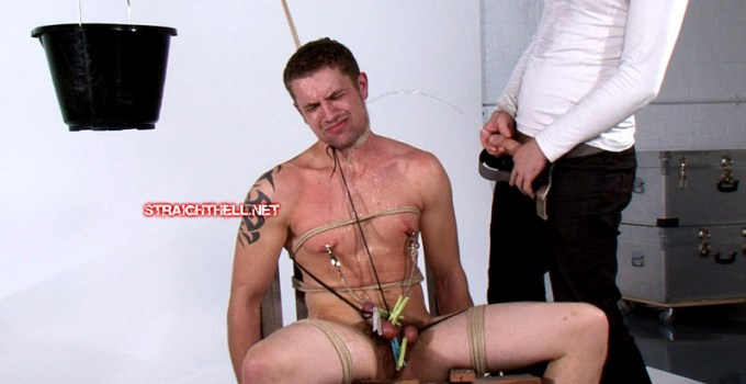 Straight Hell Terry: Pissing Humiliation