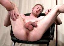 Casting Room Bonus: 18 yo English Lad Chris Has an Unusual Wank Habit