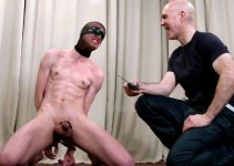 Chris Learns to Suck Cock: Blindfolded Blowjob Training