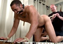 Kirk Returns for a Humiliating Cock Milking & Belt Whipping