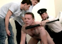 #CMNM: Prison Guard Forces Slag Inmate to Lick Cum off the Floor
