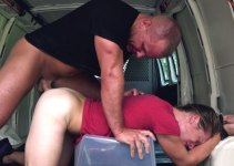 #Helpless Boys: Jax Chokes on a Thick Dick