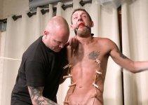 Martin Barely Survives Daves Brutal Flogging and Orgasm Torture