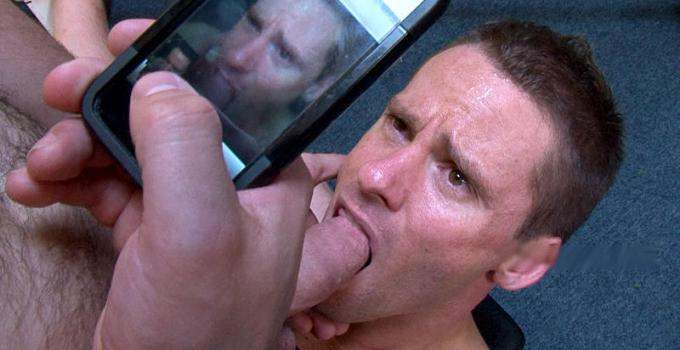 #Classic: Hard-body Todd Sucks Cock at the Gym