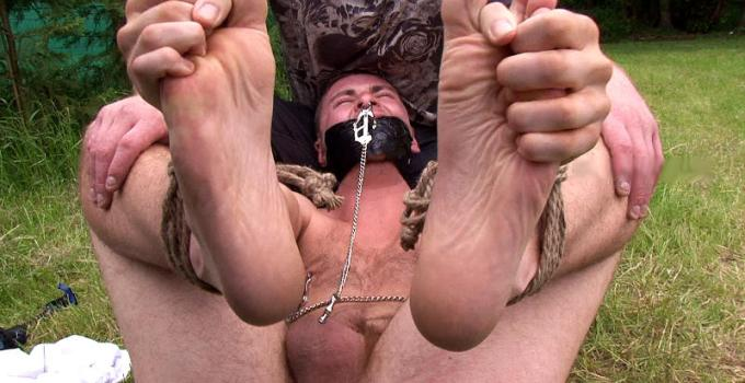#Classic: Ambushed Nicholas is gagged, stripped and violated