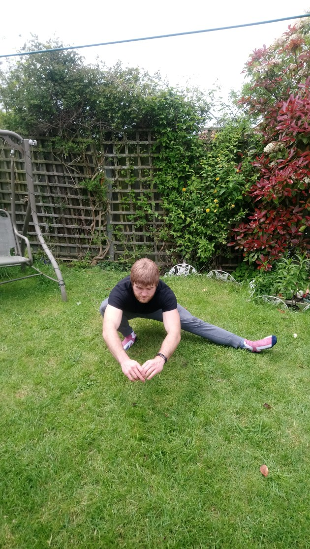 CaliMove Mobility pre pic (Cossack squat) other side