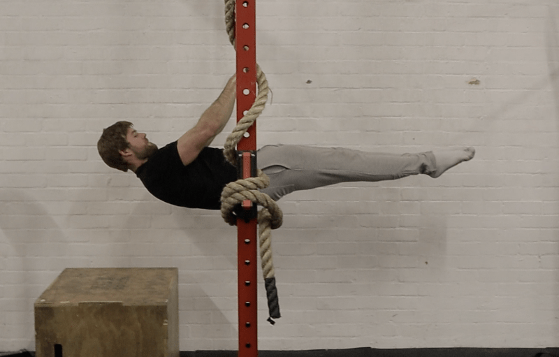 Front lever Norwich workshop 2018