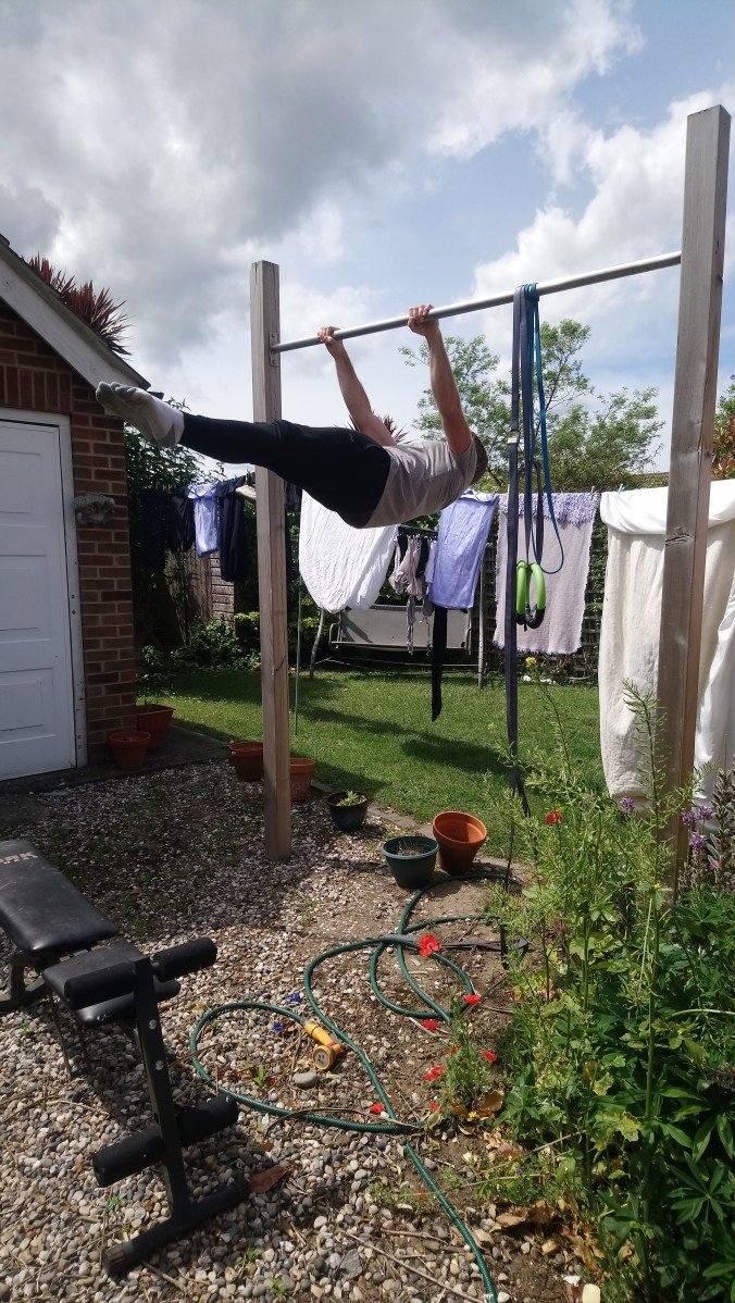 Full Front lever from tuck