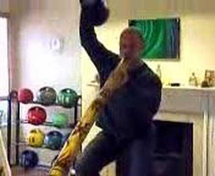 Kettlebell Swiss Ball Didgeridoo Sots Press
