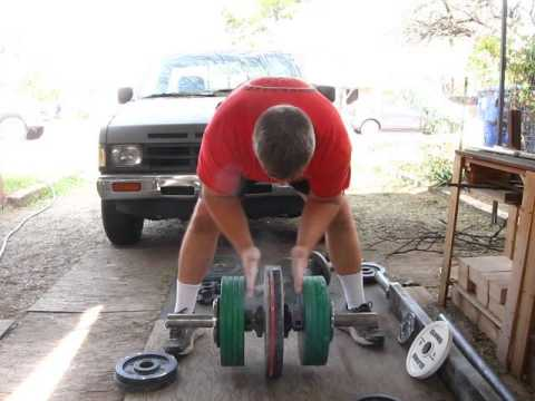 Two-Handed Pinch Grip Deadlift