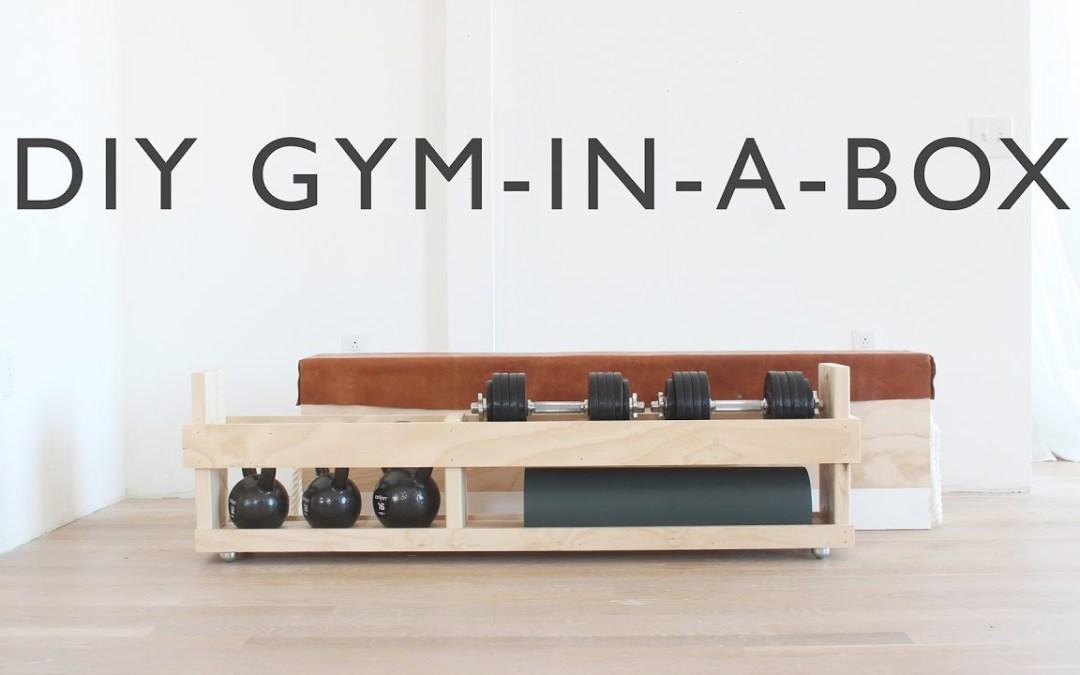 DIY Home Gym In A Box