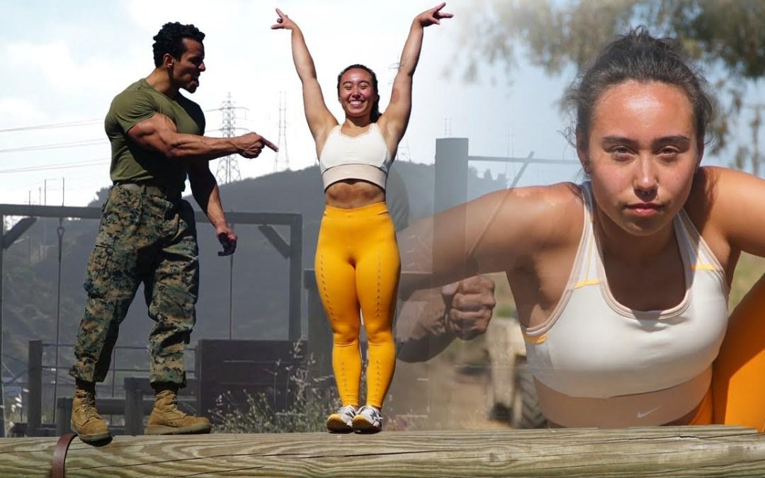 Gymnast Katelyn Ohashi Takes on the US Marine Obstacle Course (Austen Alexander)