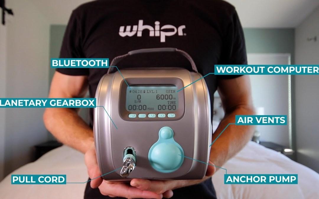 Whipr (Travel-Focused Training Machine)