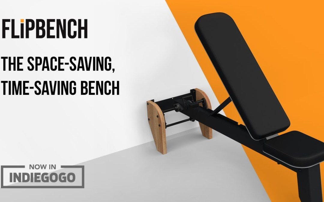 FLiPBENCH (Wall-Mounted, Folding Incline Bench)