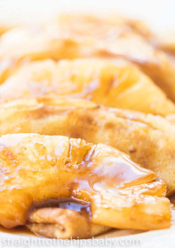 Pineapple Caramel Crepes