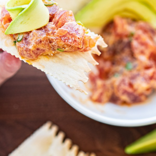 Simple Spicy Tuna Tartare