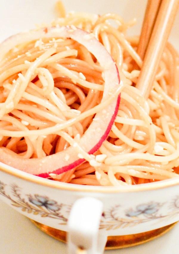"""Fran's """"Thai"""" Noodle Salad"""