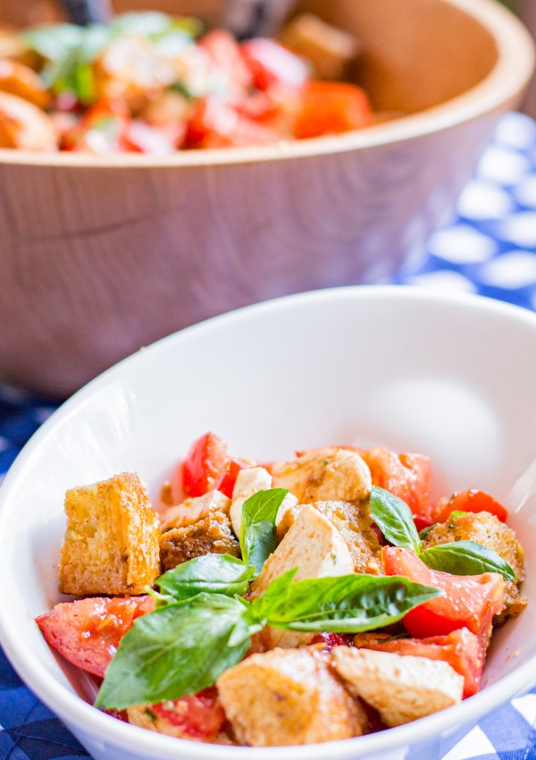 Tomato Mozzarella Panzanella